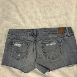 American Eagle Outfitters Shorts - AE Low Waist Light Washed Denim Shorts